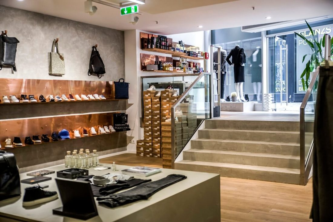 Sanierung glanzstück Concept Store Mainz