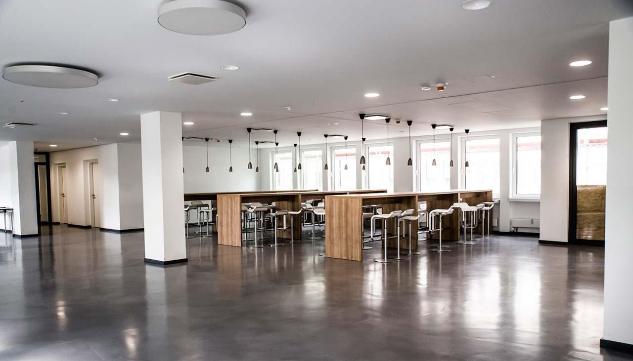 Innenraumsanierung von Geschäftsräumen in Mainz und Wiesbaden
